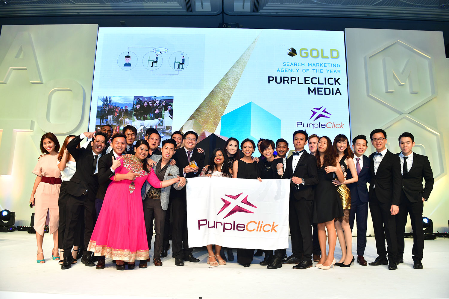 PurpleClick Media- Search Marketing Agency of the Year 2017