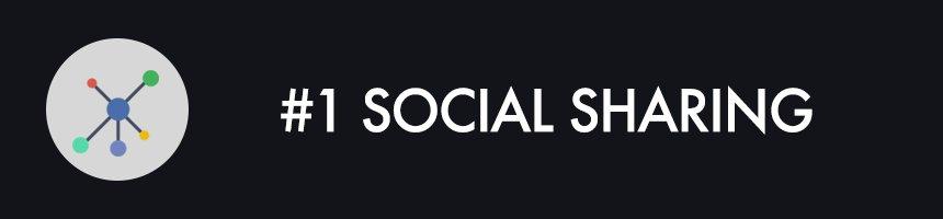 #1 Social Sharing
