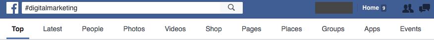 Facebook Search #digitalmarketing